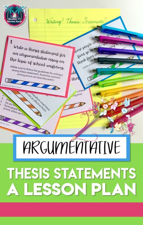 good and bad thesis statements high school