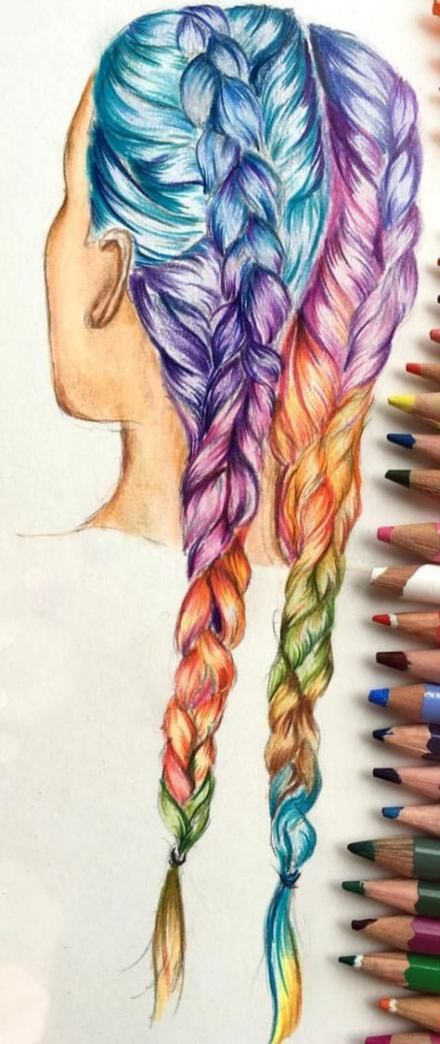 54 Ideas Drawing Of Girls Happy Drawing Drawings How To Draw