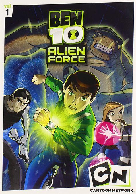 Ben 10 Alien Force Season 1 Vols 1 3 3 Discs Dvd Ben 10