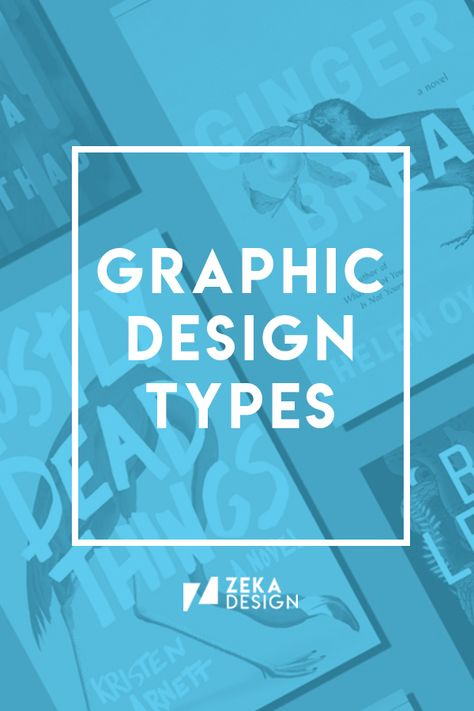 Discover The Different Graphic Design Types