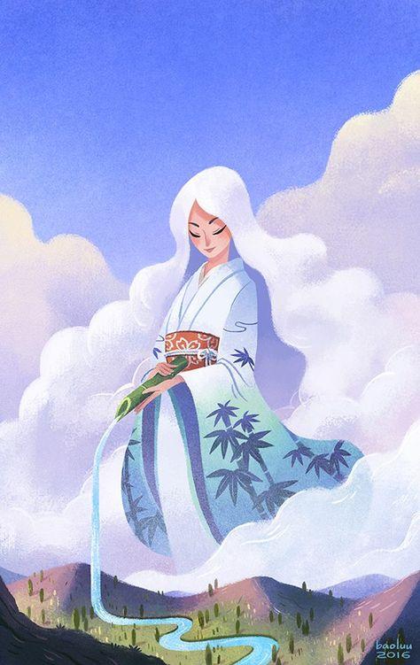 Horoscope Book Cover Illustration by Bao Luu - Ego - AlterEgo
