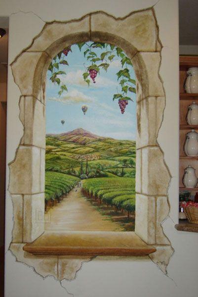 Trompe Lu0027Oeil Gallery | Storied Walls   Trompe Lu0027oeil Murals Gallery IMO