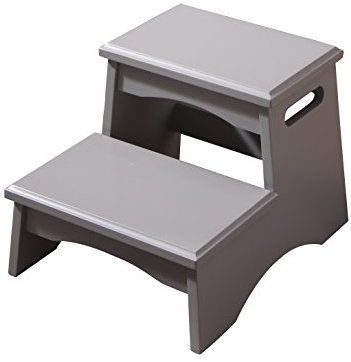 Amazon Com Formosa Living Products Double Step Stool Gray