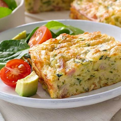 Collect this Zucchini & Bacon Slice recipe by Western Star. MYFOODBOOK.COM.AU   MAKE FREE COOKBOOKS