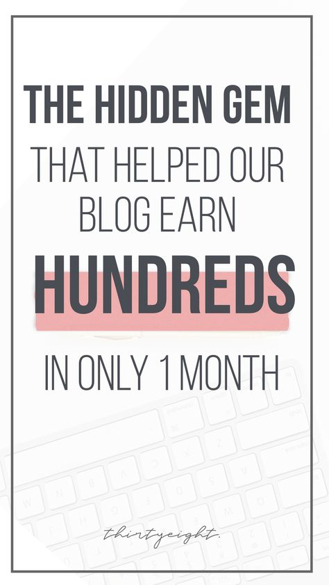 The Best Blogging Secret For Earning Money