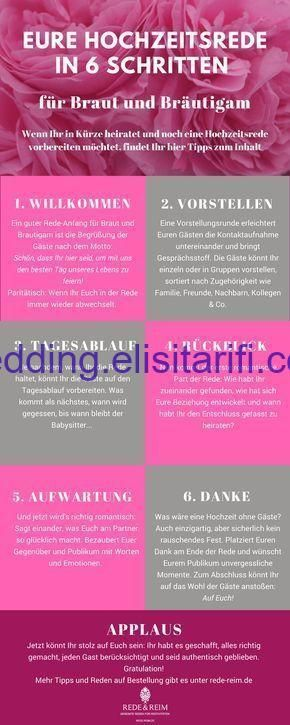 Wedding Speech For Bride And Groom In 6 Steps Bride Groom Speech Steps Wedding Wedding Speech Diy Wedding Planner Wedding Beauty Checklist