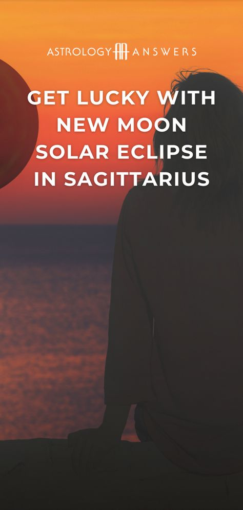 If you're ready to learn more about the one-of-a-kind energy that accompanies a New Moon in Sagittarius, paired with a Solar eclipse, you've come to the right place.