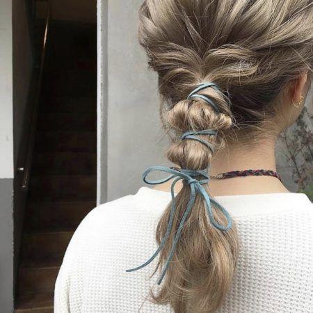 簡単ロングヘアアレンジ15選 お団子ヘア 編み込み 浴衣ヘア