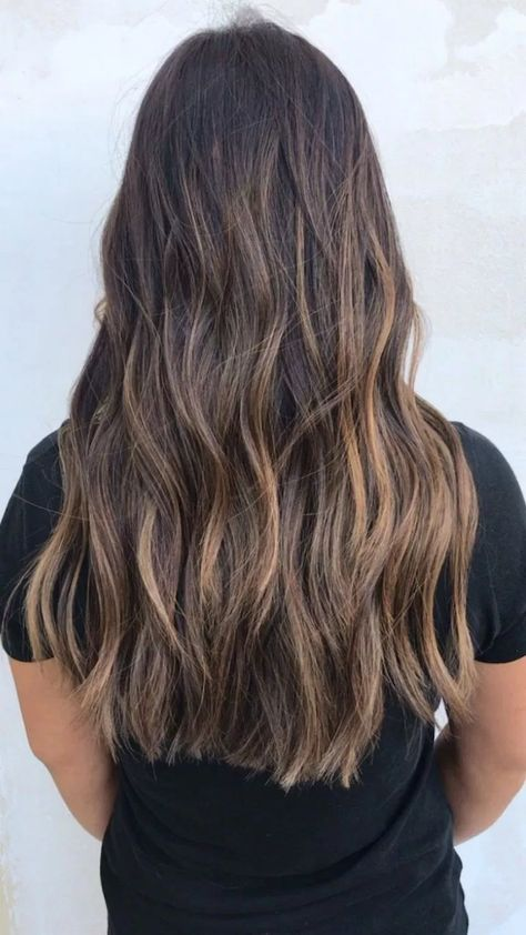 √77 Balayage Hair Color Ideas for Brunettes in 2019 #haircolor #haircolorideas #balayagehaircolor – nothingideas.com