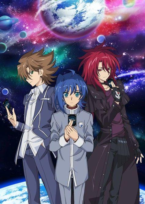 New Anime for Vanguard and Bermuda Triangle | Anime ...
