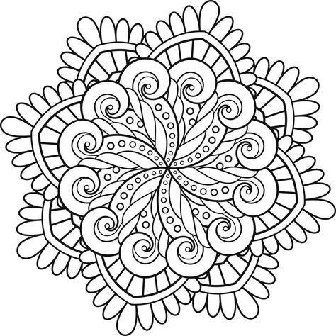 Mas De 100 Dibujos De Mandalas Para Imprimir Y Colorear Con