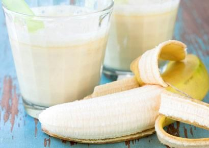 banana and peanut butter smoothie, flat belly diet recipe