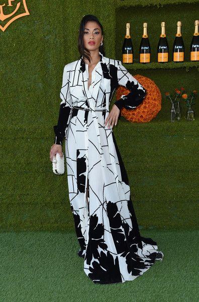 Nicole Scherzinger attends the 8th annual Veuve Clicquot Polo Classic.