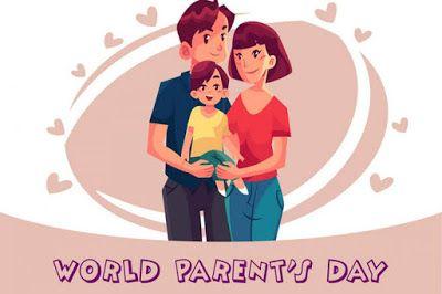 World Parents Day Family Illustration International Family Day Friends Like Family