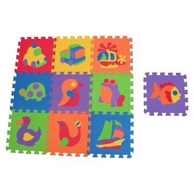 Edushape Edu Tiles Foam Puzzle Set 10