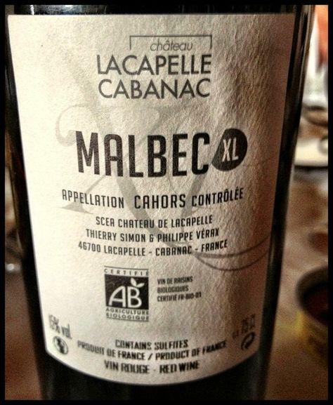 El Alma del Vino.: Château Lacapelle Cabanac Malbec XL Cahors 2009.