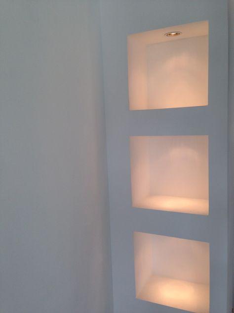 Super Idee Ablagefacher Bzw Einbauregale Mit Rigips Trockenbau Kellerbeleuchtung Trockenbau Regal Rigips