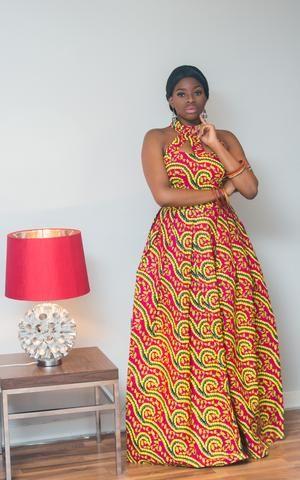 Juliana African Maxi Dress African Maxi Dresses African Design Dresses Latest African Fashion Dresses