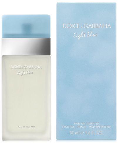 Dolce Gabbana Dolce Gabbana Light Blue Eau De Toilette Spray 1 6 Oz Reviews All Perfume Beauty Macy S In 2020 Light Blue Perfume Blue Perfume Best Fragrance For Men