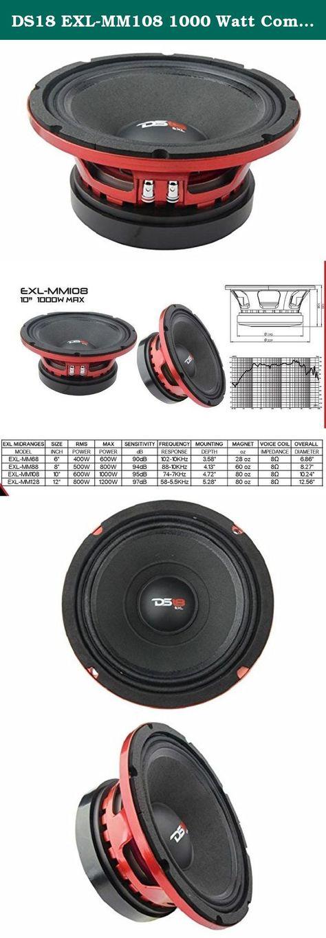 98 DB Tweeter Speakers Car Audio with Screw and Glue for Most Cars Yosoo Health Gear 12v 500w Car Audio Speakers