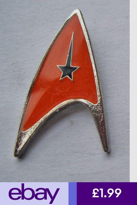 Star Trek Enterprise Starship enamel pin lapel badge