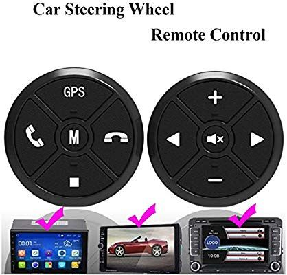 Universal Wireless Car Steering Wheel Remote Control Button For Stereo GPS