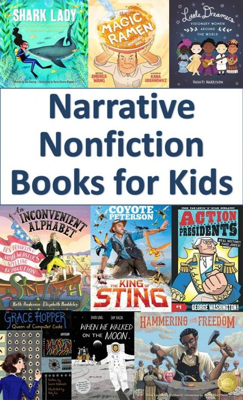 A Review Of 20 More New Narrative Nonfiction Books For Kids
