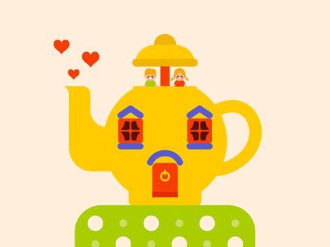 Big Yellow Teapot