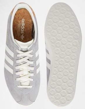 adidas Originals Gazelle OG Solid Gray Sneakers | STYLE
