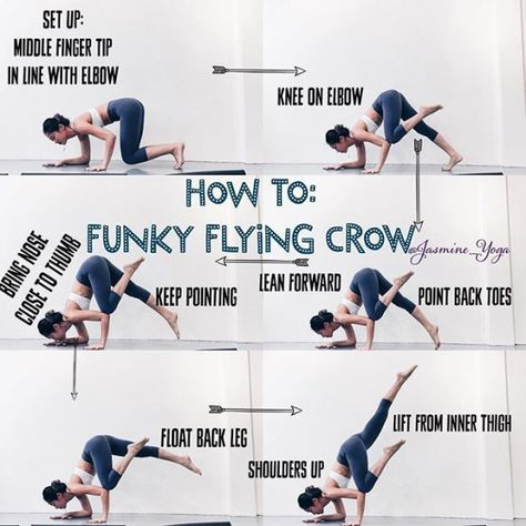 jasmineyogatutorial funkycrow flyingcrow so this is a