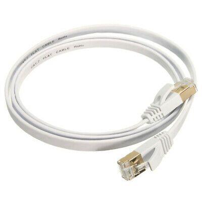 Ebay Ad Url 10 Gigabit Cat 7 Flat Ethernet Patch Network Lan Cable 600mhz Rj45 Modem Router Modem Router Modems Rj45