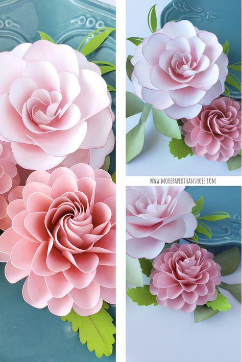 Easy DIY Paper Flowers Easy paper flower tutorials DIY flowers Handmade paper flower templates DIY Bridal Bouquet Shabby Chic Flowers The post Easy DIY Paper Flowers appeared first on Paper Ideas. Paper Flower Patterns, Tissue Paper Flowers, Paper Flower Backdrop, Paper Flower Tutorial, Paper Roses, Flower Paper, Simple Paper Flower, Rose Tutorial, Handmade Flowers
