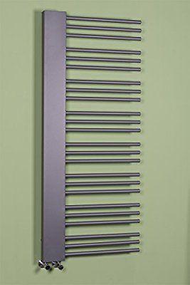 Designer Handtuchheizkörper Badheizkörper 1455x600mm Grau