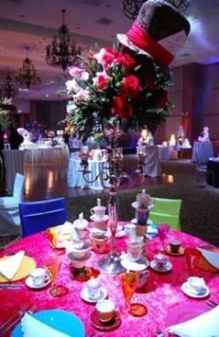 Wedding Themes Alice In Wonderland Centerpiece Ideas 37 New Ideas