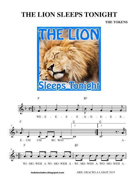 The tokens the lion sleeps tonight letra español