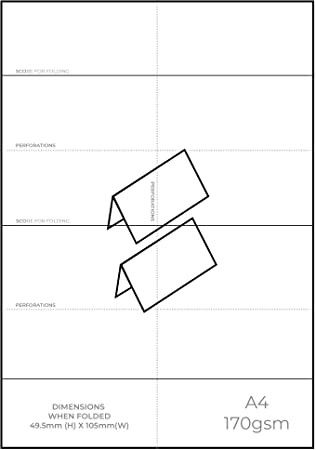 Place Cards Templates 6 Per Sheet Printable Place Cards Tent Cards Free Place Card Template