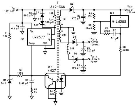 Looking For A Cool And Simple To Build 12v 2 Amp Smps Circuit