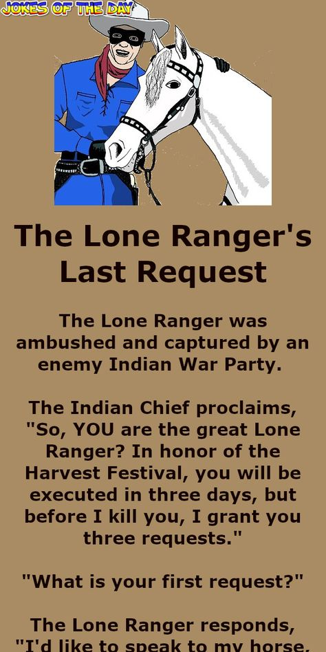 The Lone Rangers Last Request