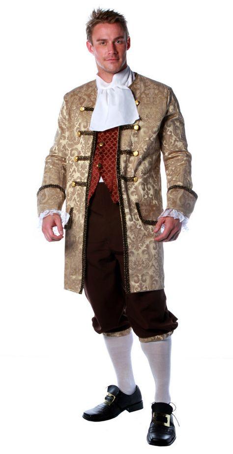 Men/'s Colonial Aristocrat Costume
