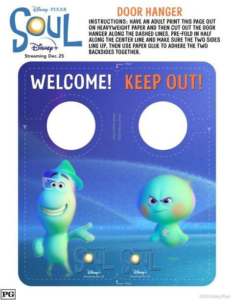 Watch Disney Pixar SOUL on Disney+ – Get the Activity Sheets! #PIXARSOUL