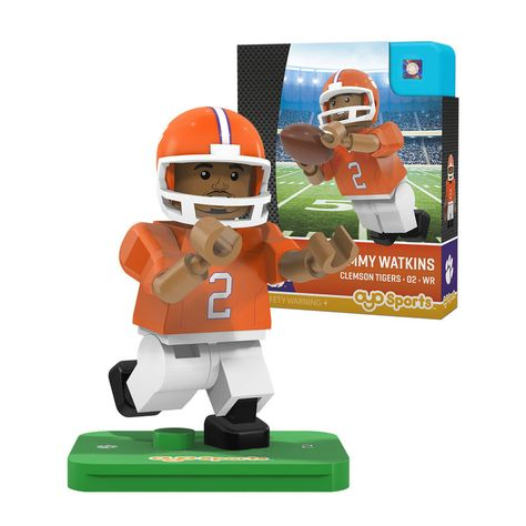Kareem Hunt Kansas City Chiefs OYO Sports NFL Football Buildable Mini Figure