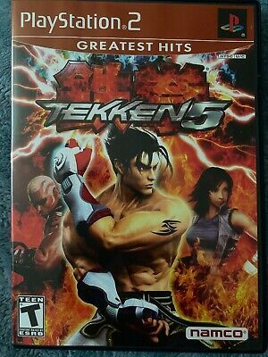 Tekken 5 Playstation 2 Greatest Hits Complete Ps2 Games Game Download Free Games