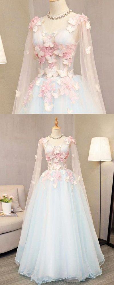 50b2bf5702 Popular Long Prom Dresses, Prom Dresses Ball Gown, Prom Dresses Blue, A-