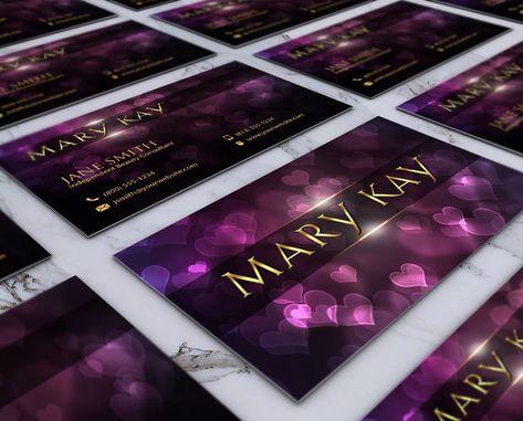 Mary Kay Visitenkarten Vistaprint Plus Mary Kay Business
