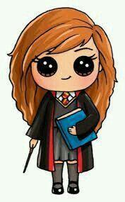 Hermione Kawaii Con Immagini Disegni Kawaii