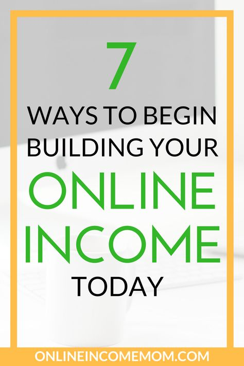 How to Start Building your Online Income Today