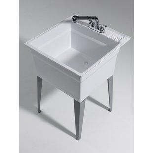 Find The Perfect Utility Sinks Wayfair Laundry Sink Sink Utility Sink