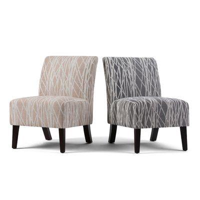 Wrought Studio Midhurst Slipper Chair | Chair, Chair