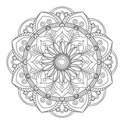 Pin En Mandalas Para Imprimir