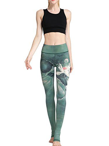 US Women/'s Sports Yoga Pants Leggings Running Gym Athletic Workout Trousers DS